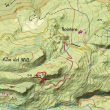 Situación de la vía ferrata del Tossal de les Venes.  ()