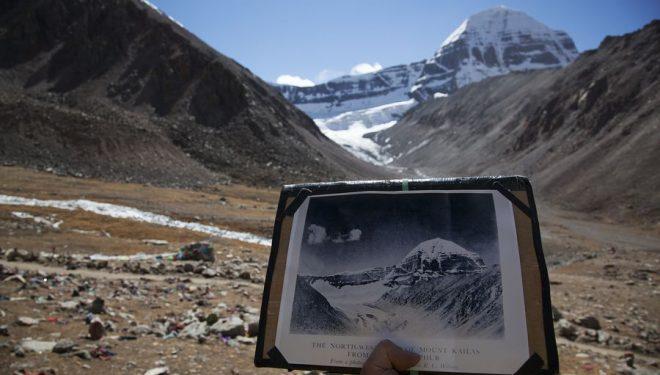 """Presente y pasado. """"Rivers of Ice: Glaciares en vías de extinción en el Gran Himalaya""""  ()"""