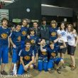 El equipo tecnificación escalada de la Federación Vasca con su responsable: Josean Mulas. Campeonato España  Escalada Juvenil 2013