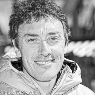 El escalador y entrenador vasco Josean Mulas  (© Darío Rodríguez/DESNIVEL)