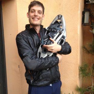 Javier Ahedo ganador de las raquetas TSL Outdoor  ()