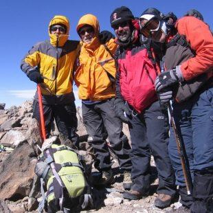 Cumbre de Sierra Nevada  (Expedición Sierra Nevada 2014)