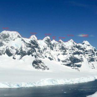 Las Siete Hermanas (Antártida)  (Expédition Antarctique 2014)