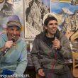 """Serge Casteran y Dani Andrada en la presentación """"El juego de escalar"""" en la Librería Desnivel  ()"""