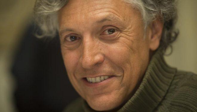 El periodista Alfredo Merino . Premios Sociedad Geográfica Española 2013.  ()