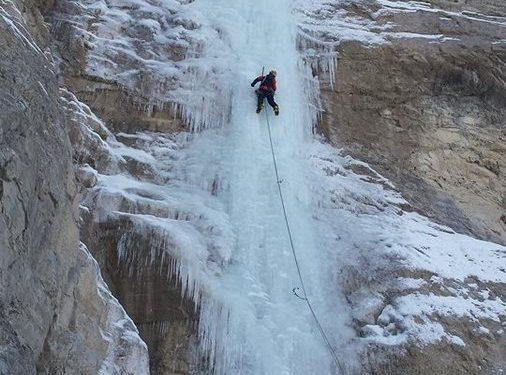 Anna Torretta en el L1 de ANAtoLIA en el valle de Cevizli (Turquía)  (Col. C. Buil)