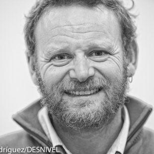 El deportista y aventurero Antonio de la Rosa que atravesó el Atlántico remando ganando la competición Rames Guyane. 4.700 kilómetros desde Dakar a la Guayana francesa en 64 días. Enero 2015  (© Darío Rodríguez/DESNIVEL)