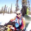 Antonio de la Rosa en la Travesía Invernal a Alaska por la ruta del Iditarod  ()
