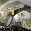 Ramon Julián hace la ascensión inaugural en :Climbat Málaga.  ()