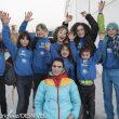 Los jovencísimos escaladores/as del :Climbat Team dirigido por Berta Martín. Entre ellos María Benach y Cedric Lluc. Inauguración :Climbat Griñón  (© Darío Rodríguez/DESNIVEL)