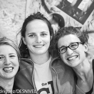 Maud Ansade ganadora The Climb Open Boulder Festival 2015. Isabel Villar