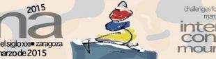 Cartel CIMA Congreso Internacional de Montañismo que se va a celebrar en Zaragoza durante los días 26