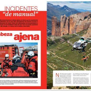 Artículo Incidentes de manual. Seguridad en montaña