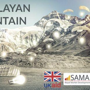 Cartel del concurso Himalayan Mountain Hut