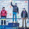 Podio masculino del Campeonato del Mundo de Escalada en Hielo de Dificultad 2015: Maxim Tomilov (1º)