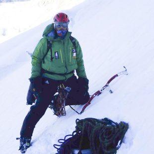 Alex Txikon durante un intento anterior en el Nanga Parbat (invierno 2015)  (© Colección Alex Txikon)