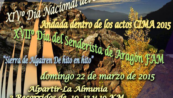 Cartel del XIV Día Nacional del Senderismo  ()