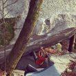 Beto Rocasolano escalando en Cresciano  (Facebook Alberto Rocasolano)