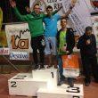 Podio masculino en la primera prueba de la Copa de España de Bloque 2015