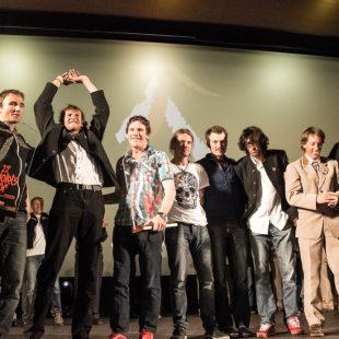 Los alpinistas premiados con el Piolets DOr 2014.  ()