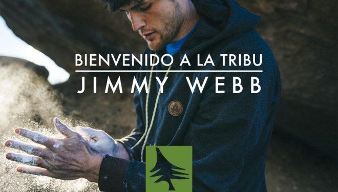 HippyTree da la bienvenida a su tribu al escalador Jimmy Webb  ()