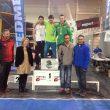 Podio masculino de la segunda prueba de la Copa de España de Bloque 2015