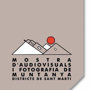 Cartel de la Mostra d'Audiovisuals i Fotografia de Muntanya de Sant Martí 2015  ()