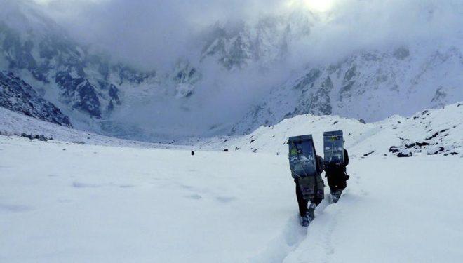 Expedición del equipo de Alex Txikon en el Nanga Parbat. Invierno 2015  (© Alex Txikon)