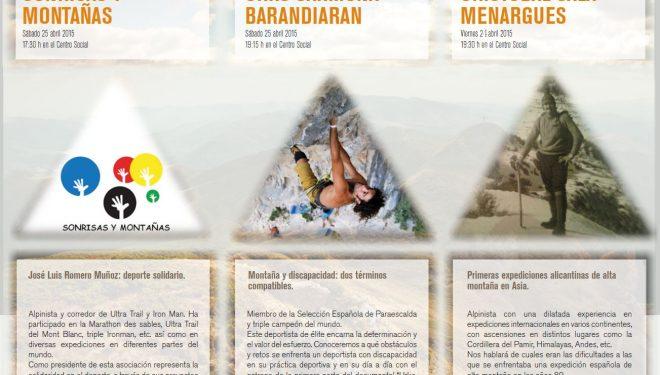 Jornadas de Montaña Centro Excursionista de Alicante 2015  (Centro Excursionista de Alicante)
