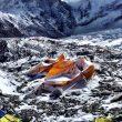 Estado del CB del Everest tras la avalancha (6 Summits Challenge)