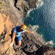 Antes del último largo de `Los Gigantes` (Tenerife)  (Daniel du Lac)