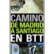 Portada de la guía del Camino de Madrid a Santiago en BTT [WEB]  ()