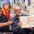 Ramón Portilla y Sebastián Álvaro en la Librería Desnivel muestran sus libros imprescindibles. Día del libro 2015  (©Darío Rodríguez)