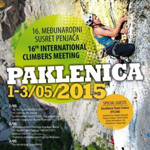 Cartel informativo International Climbing Meeting en Paklenica  ()