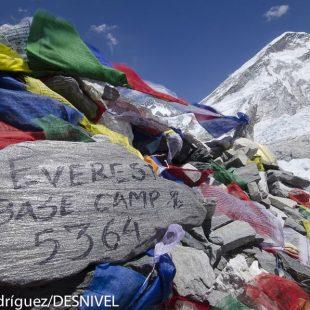 Campo base del Everest  (© Darío Rodríguez/DESNIVEL)