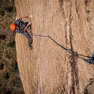 Conrad Anker en Latent core (Zion)  (David Lama)