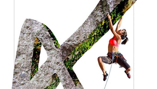 Cartel del encuentro de escaladores en Callejuelas (Cuenca)