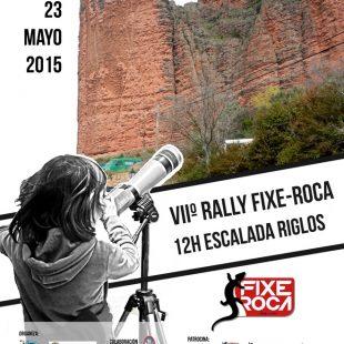 Cartel Rally 12 horas de escalada de Riglos 2015  ()