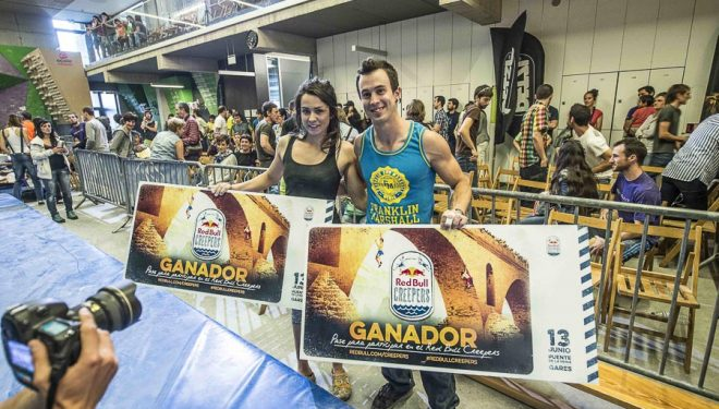 Eric López e Itziar Zabala ganadores primera prueba Trangoblock Series 2015