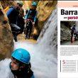 Apertura artículo Especial Sierra de Guara: Barrancos con personalidad. Revista Grandes Espacios nº 210. Abril 2015  ()