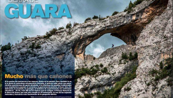 Apertura artículo Especial Sierra de Guara: Mucho más que cañones. Revista Grandes Espacios nº 210. Abril 2015  ()