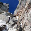 Chris Thomas en la primera ascensión al Seraph (Revelation Mountains