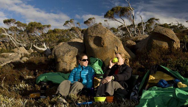 Un descanso al sol con X-Set de Sea to Summit  (Matthew Newton)