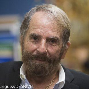 César Pérez de Tudela en la presentación de Horologium