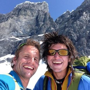 Simon Gietl y Roger Schaeli