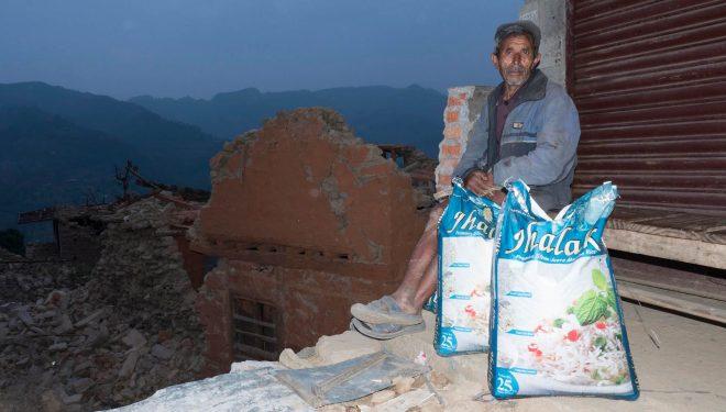 Ayuda tras el terremoto de Nepal. 2015  (©Ayuda Directa Himalaya)
