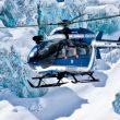 Helicóptero PGHM (PGHM (pelotón de gendarmería de alta montaña) de Chamonix