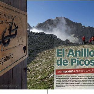Artículo de El anillo de Picos en Grandes Espacios nº 212. Especial Picos de Europa.  ()