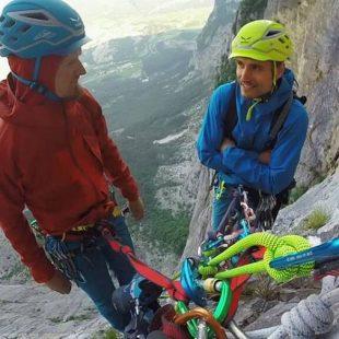Lukasz Dudek y Jacek Matuszek en Brento Centro (900 m