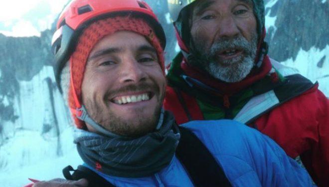 Edu Marín y Novato Marín en la Voie Petit al Grand Capucin (julio de 2015)  (Col. E. Marín)